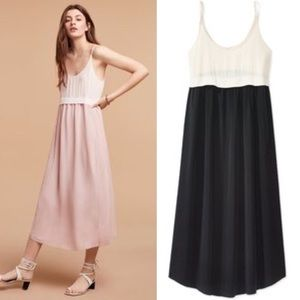 Wilfred Bisous Dress in black and nude